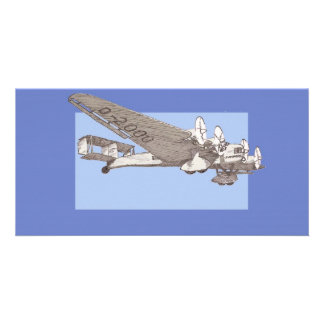 1920s Airliner Junkers G-38 Customized Photo Card