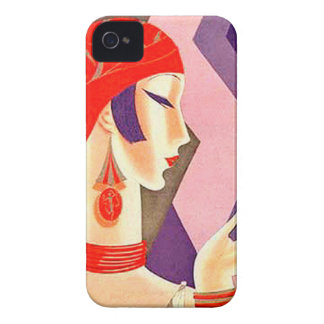 1920s Art Deco Woman iPhone 4 Covers