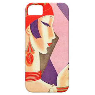 1920s Art Deco Woman iPhone 5/5S Cases