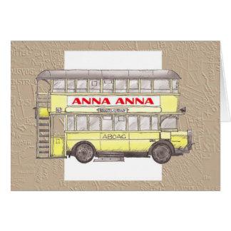 1920s Berlin Bus Card
