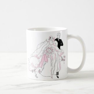 1920s Bride and Groom Coffee Mug