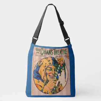 1920s Cohan's Theatre playbill cover Crossbody Bag