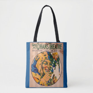 1920s Cohan's Theatre playbill cover Tote Bag