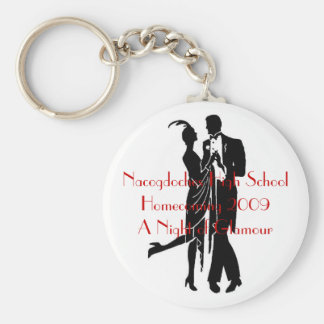 1920's couple, Nacogdoches High SchoolHomecomin... Key Ring