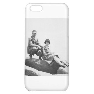 1920's Couple on Vacation Case For iPhone 5C