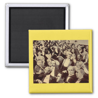 1920s crowd scene magnet