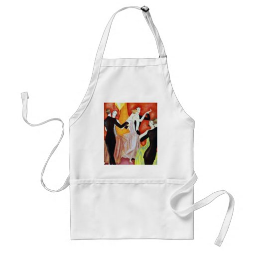1920's Dancing Couples Aprons
