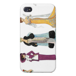 1920's fashion 4  cover for iPhone 4