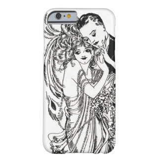 1920s Flapper Beauty iPhone 6 case Barely There iPhone 6 Case