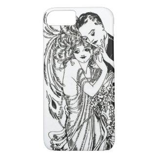 1920s Flapper Beauty iPhone 7 case