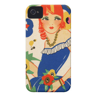 1920's Flapper iPhone 4 Covers
