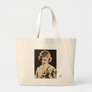 1920s Flapper Large Tote Bag