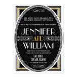 1920's Great Gatsby Wedding Invitations