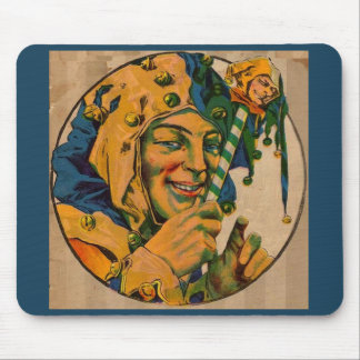 1920s jester mouse pad