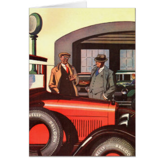 1920s Kelly Springfields tire ad - another one Card