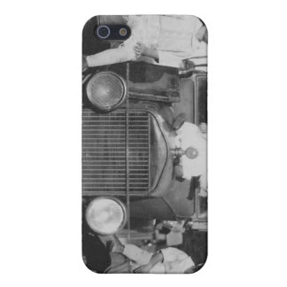 1920's Kids on Car Case For iPhone 5