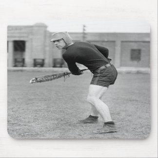 1920s Lacrosse Player Mousepad