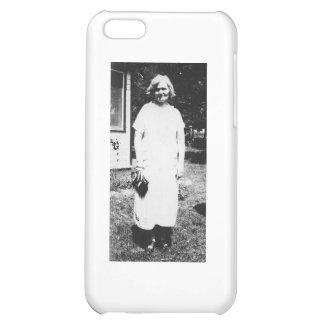 1920's Lady with purse going shopping Cover For iPhone 5C