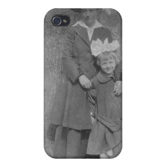 1920's Mother and Daughter by Tree Cases For iPhone 4