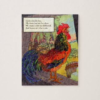 1920s Mother Goose - rooster Jigsaw Puzzle