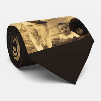 1920s pitbull guards baby tie