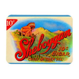1920s Sheboygan cigar label Magnet