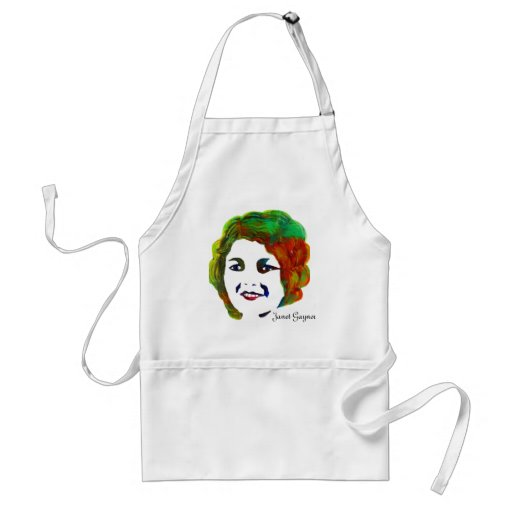 1920s Silent Movie Star Janet Gaynor Apron