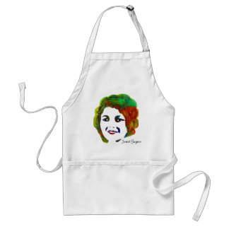 1920s Silent Movie Star Janet Gaynor Standard Apron