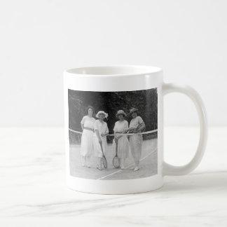 1920s Tennis Fashion Mugs