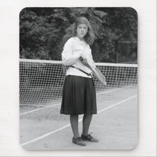 1920s Tennis Style Mouse Pad