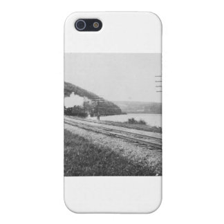 1920's Train on Track Cases For iPhone 5