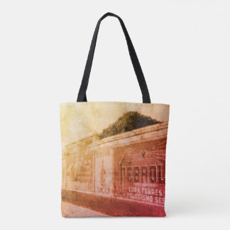 1920s Vintage Advertising Wall Colourful Tote Bag