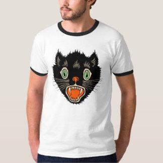 1920s - Vintage Halloween Black Cat T-Shirt