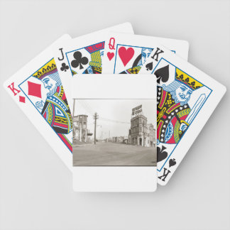 1920's vintage Street Photo Bicycle Poker Deck