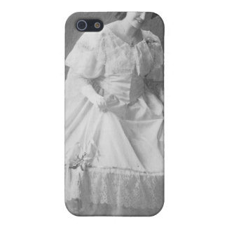 1920's Wedding Photo of Bride Cases For iPhone 5