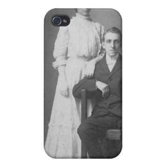 1920's Wedding Picture iPhone 4 Covers