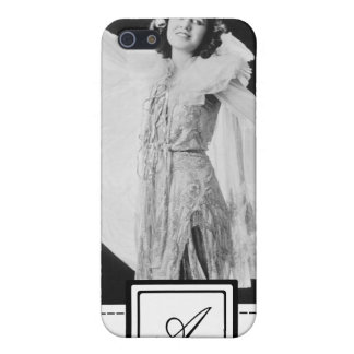 1920s Women's Fashion iPhone Case & Monogram Cover For iPhone 5