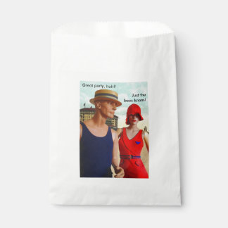 1920s Wool Bathing Suits Favour Bag