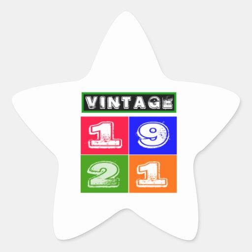 1921 Birthday Designs Sticker