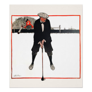 1921 Golfer - Archival Golf Print