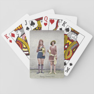 1922 Beauty Contest Playing Cards