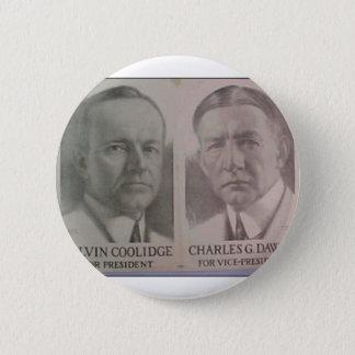 1922 Coolidge - Dawes 6 Cm Round Badge