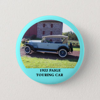 1922 Paige Touring Car 6 Cm Round Badge