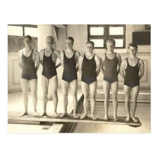 1922 Swim Team Postcard