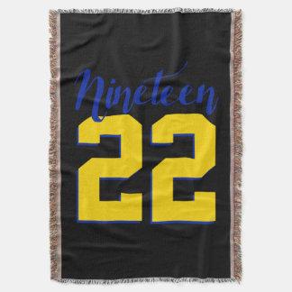 1922 Throw Blanket