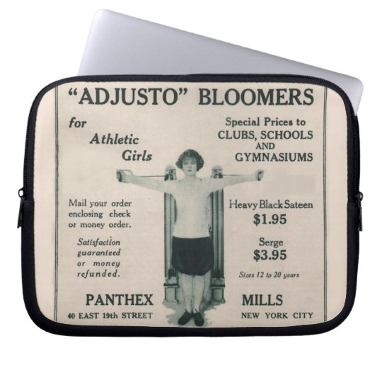 1922 vintage bloomers magazine ad electronics bag