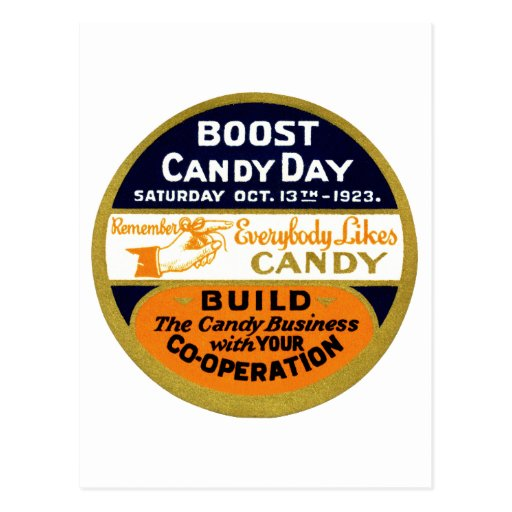 1923 Candy Day Post Cards