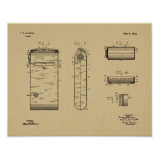 1923 Compact Camera Patent Art Drawing Print