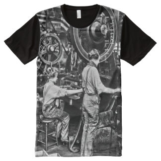 1923 Detroit Innovating the Planet All-Over Print T-Shirt