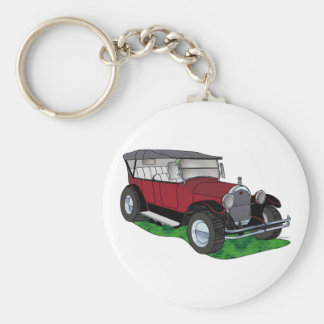 1923 Oldsmobile Touring - Red Key Ring